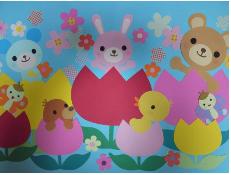 壁面飾り保育【3月4月可愛い春 ...